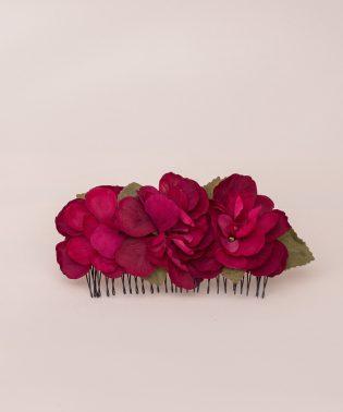 Pente Hortênsia Amor - Garden roses